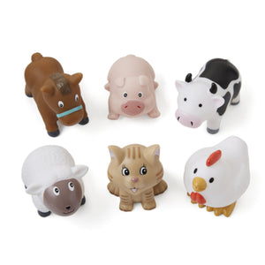 Elegant Baby Bath Squirties Barnyard Animals Tub Toys