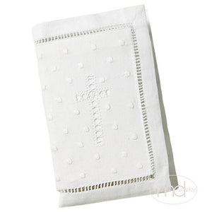 Elegant Baby Keepsake Bible - Embroidered Cross - Madison-Drake Children's Boutique