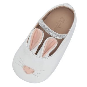 Elephantito Baby Girls Bunny Sleeper Ballet Shoes - Madison-Drake Children's Boutique