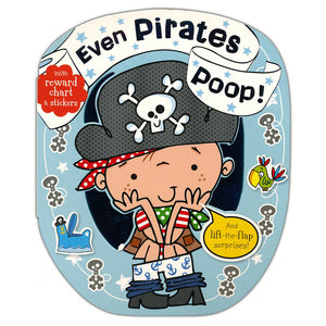 Even Pirates Poop Book - Madison-Drake Children's Boutique