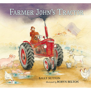 Farmer Johns Tractor by Sally Sutton - Madison-Drake Children's Boutique
