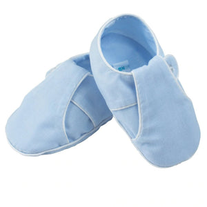 Feltman Brothers Baby Boys Blue Newborn Booties - Madison-Drake Children's Boutique