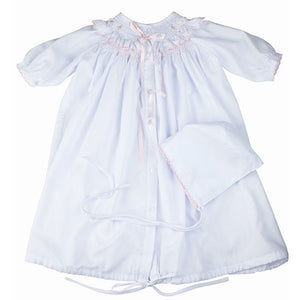 Friedknit Creations Baby Girls Smocked Take Home Set - Madison-Drake Children's Boutique