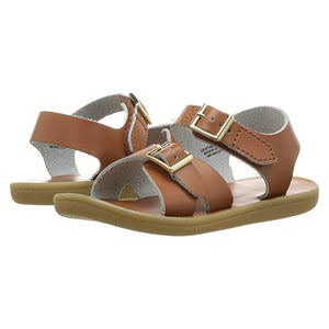 Footmates Girls / Boys Tan Tide Sandals - Madison-Drake Children's Boutique