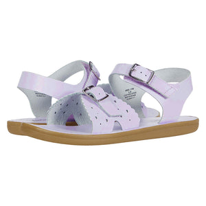 Footmates Girls Lavender Ariel Sandals - Madison-Drake Children's Boutique