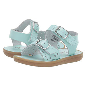 Footmates Ariel Sweetheart Mint Green Little Girl's Sandals
