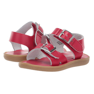Footmates Girls / Boys Apple Red Tide Sandals - Madison-Drake Children's Boutique