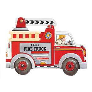 I Am A Firetruck Children's Shaped Picture Book