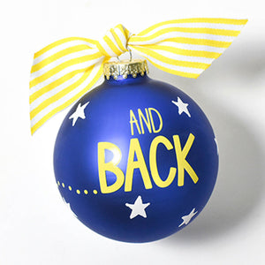 Coton Colors I Love You To The Moon And Back Glass Ornament - Madison-Drake Children's Boutique