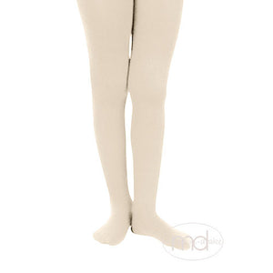 Jefferies Socks Girls Microfiber Tights - Ivory - Madison-Drake Children's Boutique