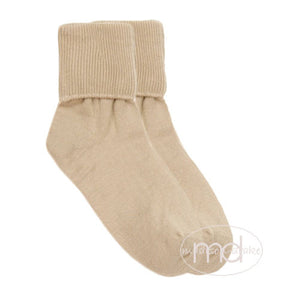 Jefferies Socks Little Boy's Stone Seamless Turn Cuff Socks
