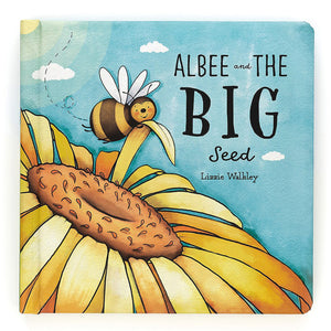 Jellycat® Albee and the Big Seed Board Book