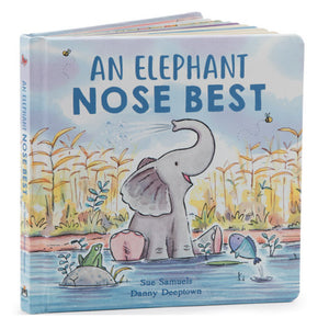 Jellycat® An Elephant Nose Best Book - Madison-Drake Children's Boutique