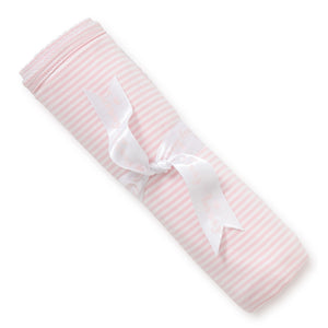 Kissy Kissy Baby Girl's Receiving Blanket Pink Stripes