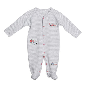 Kissy Kissy City Rescue Baby Boy's Footie