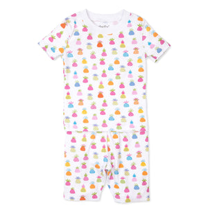 Kissy Kissy Pineapple Island Toddler Girl's Summer Pajamas
