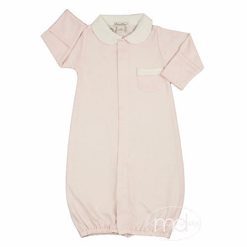 Kissy Kissy Baby Girl's Pink New Beginnings Newborn Converter Gown