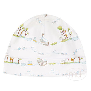 Kissy Kissy Noahs Ark Baby Boys Blue Hat - Madison-Drake Children's Boutique