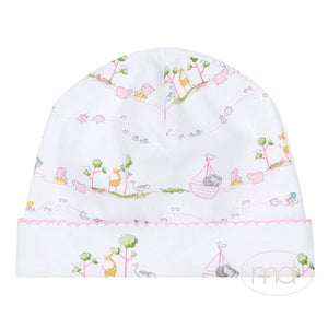 Kissy Kissy Noahs Ark Baby Girls Pink Hat - Madison-Drake Children's Boutique