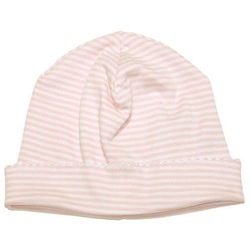 Kissy Kissy Baby Girls Pink Striped Hat - Madison Drake Children's Boutique