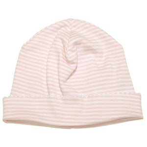 Kissy Kissy Baby Girls Pink Striped Hat - Madison-Drake Children's Boutique