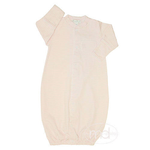 daea43a65548 Kissy Kissy Baby Girls Pink Stripes Converter Gown - Madison-Drake  Children s Boutique