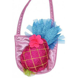 Lily & Momo Pineapple Little Girl's Purse - Madison-Drake Children's Boutique