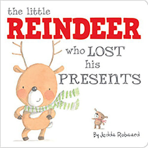 The Little Reindeer Who Lost His Presents Lift The Flap Book - Madison-Drake Children's Boutique
