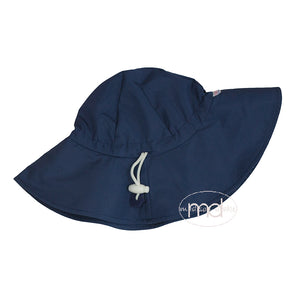 RuggedButts Boys Navy Blue Sun Hat - Madison-Drake Children's Boutique
