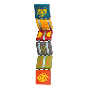 Moulin Roty Flip Flap Jacobs Ladder Wooden Toy - Madison-Drake Children's Boutique