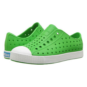 Native Kids Shoes - Grasshopper Green - Madison-Drake Children's Boutique