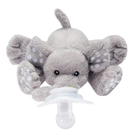 Nookums Ella Elephant Paci-Plushies Buddies - Madison-Drake Children's Boutique