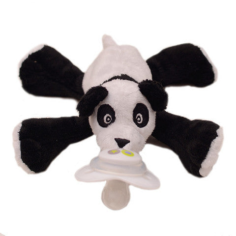 Nookums Paisley Panda Paci-Plushies Buddies - Madison-Drake Children's Boutique