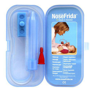 NoseFrida Snot Sucker with Travel Case