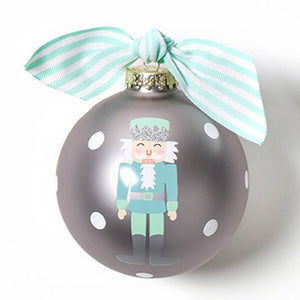Coton Colors Nutcracker Boy Glass Ornament - Madison-Drake Children's Boutique