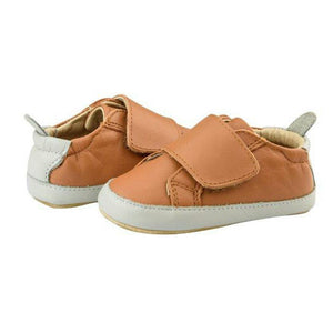 Old Soles Wendle Tan and Grey Baby Boy's Shoes