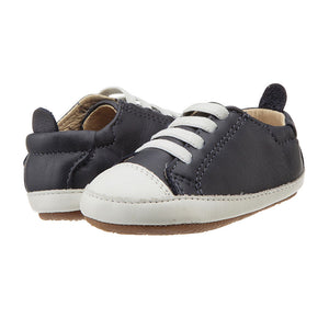 Old Soles Boys Eazy Jogger Shoes - Navy / White - Madison-Drake Children's Boutique