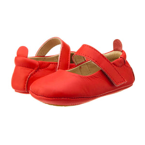 Old Soles Girls Gabrielle Mary Janes - Bright Red - Madison-Drake Children's Boutique