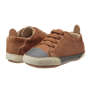 Old Soles Boys Joey Sneaker - Tan / Grey / Champagne - Madison-Drake Children's Boutique