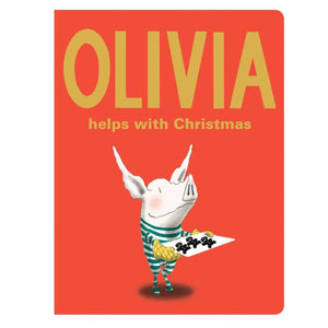 Olivia Helps With Christmas Children's Board Book