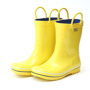 Pluie Pluie Boys / Girls Yellow Rain Boots - Madison-Drake Children's Boutique