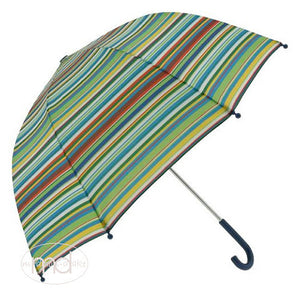 Pluie Pluie Boys / Girls Blue Striped Umbrella - Madison-Drake Children's Boutique