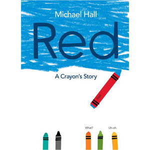 Red A Crayons Story - Madison-Drake Children's Boutique