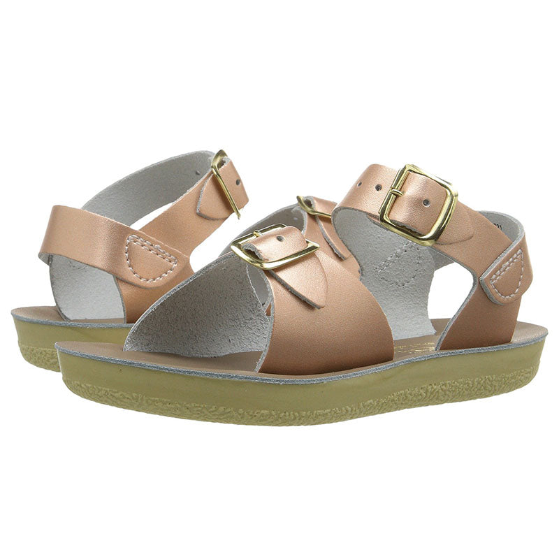 d08783ba0b7d4 Sun San Gold Surfer Little Girl's Salt Water Sandals Baby / Toddler -  Madison-Drake Children's Boutique