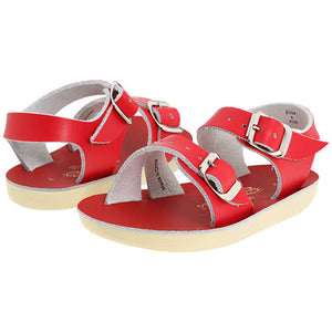 Sun San Sea Wee Red Sandals - Madison-Drake Children's Boutique
