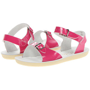 Sun San Shiny Fuchsia Surfer Salt Water Sandals - Madison-Drake Children's Boutique
