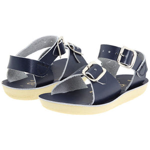 Sun San Navy Blue Surfer Salt Water Sandals - Madison-Drake Children's Boutique