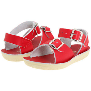 Sun San Red Surfer Salt Water Sandals - Madison-Drake Children's Boutique