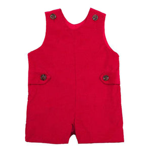 Beaufort Bonnet Toddler Boy's Jack Keene Jon-Jon Richmond Red Corduroy