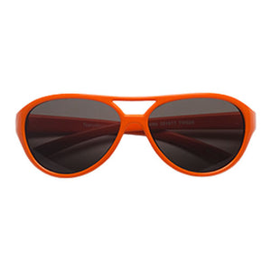 Teeny Tiny Optics Cassidy Aviator Style Toddler Sunglasses Orange
